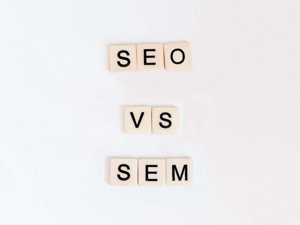 Diferença entre SEO e SEM