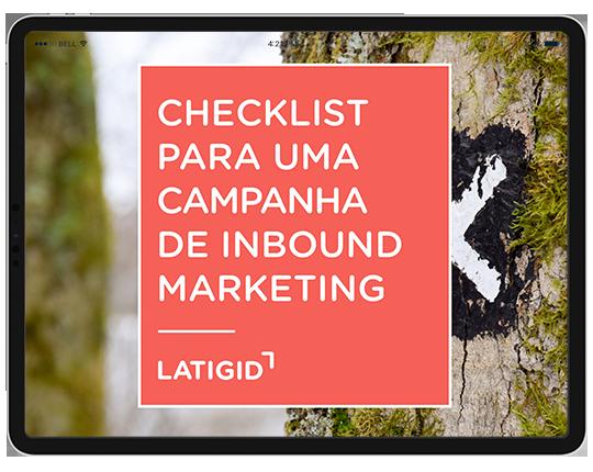 Checklist de inbound marketing